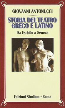 Camfeed.it Storia del teatro greco e latino. Da Eschilo a Seneca Image