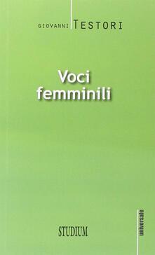 Associazionelabirinto.it Voci femminili Image