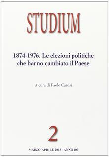 Tegliowinterrun.it Studium (2013). Vol. 2: 1874-1976. Le elezioni politiche che hanno cambiato il paese. Image