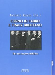 Daddyswing.es Cornelio Fabro e Franz Brentano. Per un nuovo realismo Image