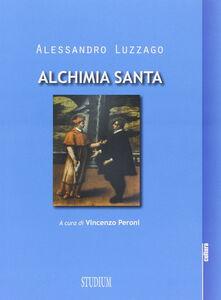 Libro Alchimia santa Alessandro Luzzago