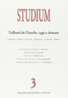 Winniearcher.com Studium (2014). Vol. 3: Teilhard de Chardin oggi e domani. Image