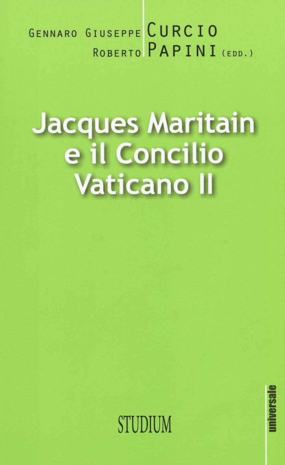Jacques Maritain e il Conci...