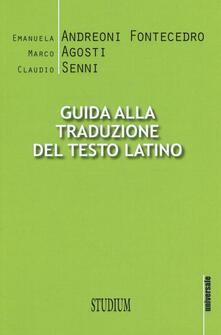 Capturtokyoedition.it Guida alla traduzione del testo latino Image