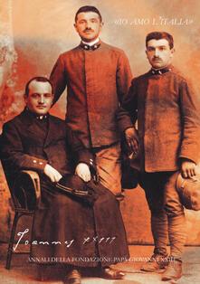 Voluntariadobaleares2014.es Joannes XXIII. Annali della fondazione Papa Giovanni XXIII Bergamo (2016) Image
