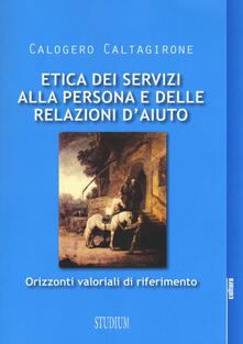Radiospeed.it Etica dei servizi alla persona e delle relazioni d'aiuto. Orizzonti valoriali di riferimento Image