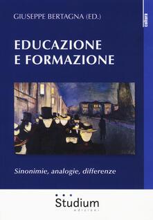 Mercatinidinataletorino.it Educazione e formazione. Sinonimie, analogie, differenze Image
