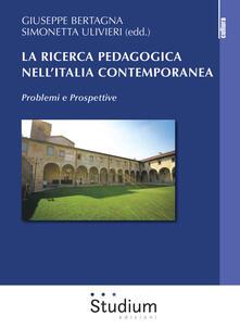 Winniearcher.com La ricerca pedagogica in Italia contemporanea. Problemi e prospettive Image