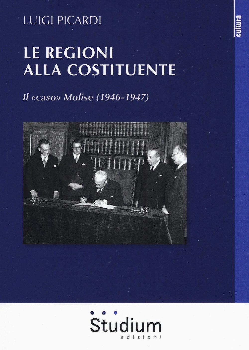 Image of Le Regioni alla Costituente. Il «caso» Molise (1946-1947)