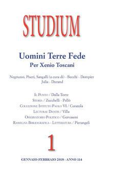 Studium (2018). Vol. 1: Uomini, terre, fede. Per Xenio Toscani.