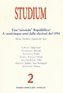Studium (2019). Vol. 2: «seconda» Repubblica? A venticinque anni dalle elezioni del 1994, Una..pdf