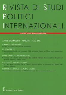 Warholgenova.it Rivista di studi politici internazionali (2019). Vol. 2 Image