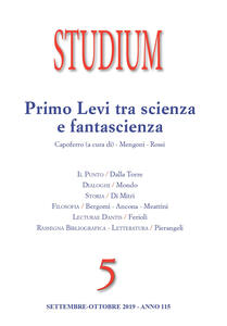 Libro Studium (2019). Vol. 5: Primo Levi tra scienza e fantascienza.