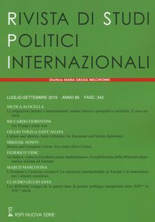 Voluntariadobaleares2014.es Rivista di studi politici internazionali (2019). Vol. 3 Image