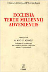 Libro Ecclesia tertii millenni advenientis Sandro Panizzolo