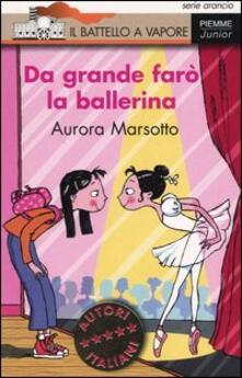 Antondemarirreguera.es Da grande farò la ballerina Image