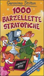 Libro 1000 barzellette stratopiche Geronimo Stilton