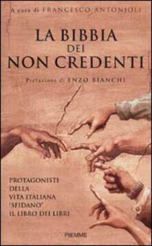 Camfeed.it La Bibbia dei non credenti. I protagonisti della vita italiana davanti al libro dei libri Image