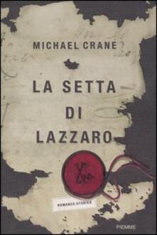 La setta di Lazzaro - Michael Crane - copertina
