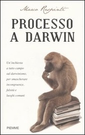 Copertina  Processo a Darwin