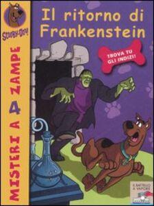 Foto Cover di Il ritorno di Frankenstein, Libro di Scooby-Doo, edito da Piemme