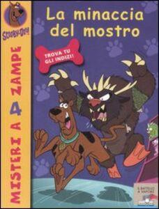 Libro La minaccia del mostro Scooby-Doo