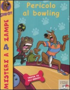 Libro Pericolo al bowling Scooby-Doo