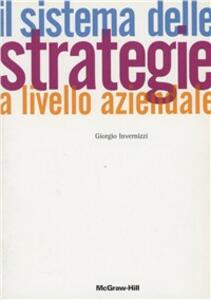Il sistema delle strategie a livello aziendale
