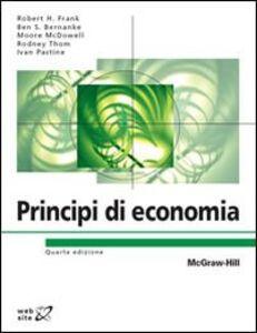 Foto Cover di Principi di economia, Libro di  edito da McGraw-Hill Education