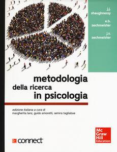 Foto Cover di Metodologia della ricerca in psicologia, Libro di AA.VV edito da McGraw-Hill Education