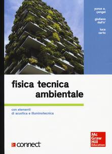 Librisulrazzismo.it Fisica tecnica ambientale. Con elementi di acustica e illuminotecnica. Con Connect (bundle) Image