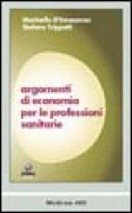 Argomenti di economia per le professioni sanitarie