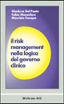 Osteriacasadimare.it Il risk management nella logica del governo clinico Image