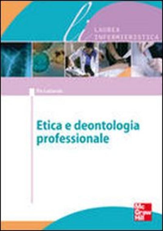 Bioetica e dentologia professionale - Pio Lattarulo - copertina
