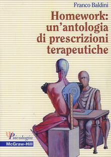 Listadelpopolo.it Homework: un'antologia di prescrizioni terapeutiche Image