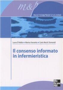 Libro Il consenso informato in infermieristica