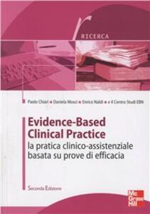 Evidence-based clinical practice. La pratica clinico-assistenziale basata su prove di efficacia - copertina