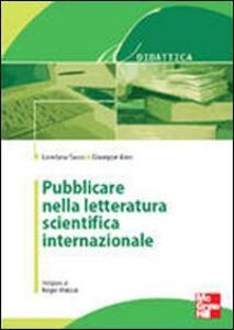 Pubblicare nella letteratura scientifica internazionale