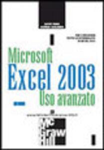 Excel 2003. Uso avanzato