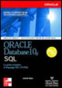 Oracle Database 10g. SQL - Jason Price - copertina