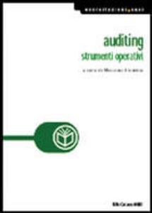 Libro Auditing. Strumenti operativi Massimo Livatino