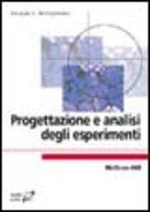Progettazione e analisi degli esperimenti