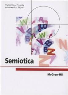 Semiotica - Valentina Pisanty,Alessandro Zijno - copertina
