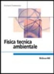 Fisica tecnica ambientale - Giuliano Cammarata - copertina