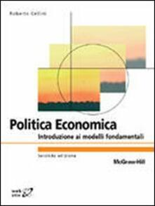 Equilibrifestival.it Politica economica. Introduzione ai modelli fondamentali Image