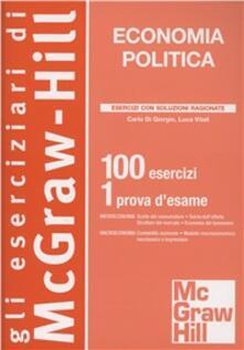 Squillogame.it Economia politica. 100 esercizi. 1 prova d'esame Image