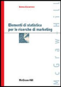 Elementi di statistica per le ricerche di marketing