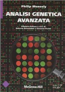 Analisi genetica avanzata - Philiph Meenely - copertina