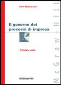 Il governo dei processi di impresa