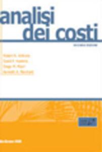 Analisi dei costi - copertina